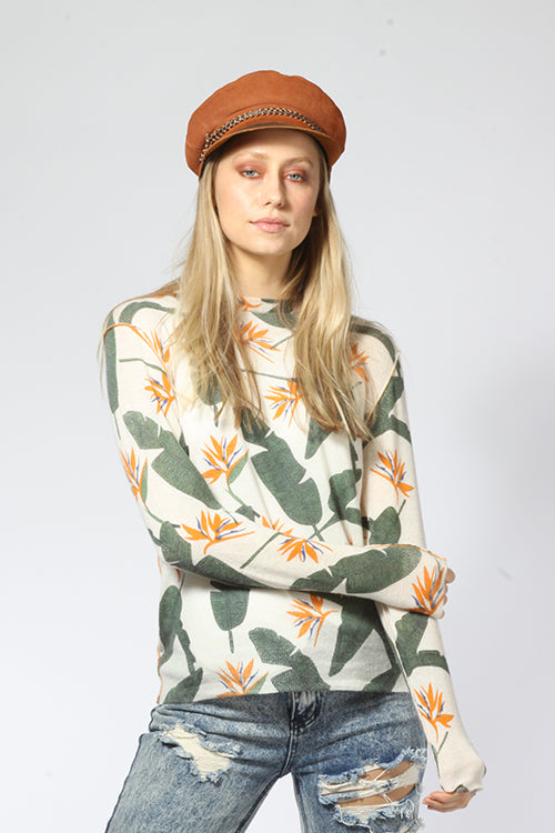Birds of Paradise Comfy Crew - Knitwit