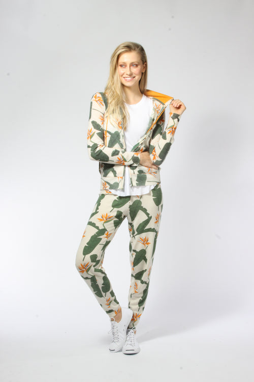 Birds of Paradise Joggers - Knitwit