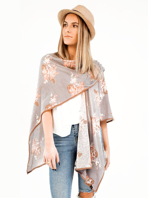 Fairy Flower Poncho - Knitwit