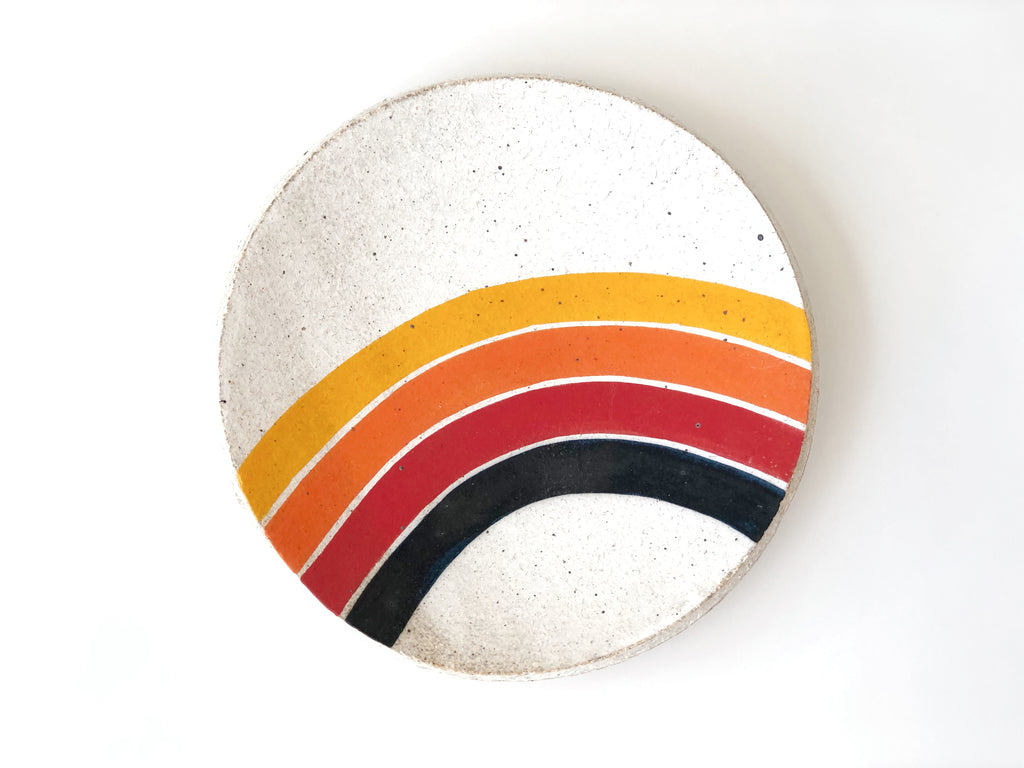 Hand-Painted Ceramic Small Dish
