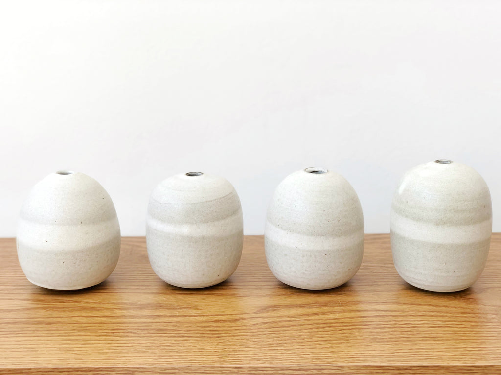 Ceramic Orb Vase Small