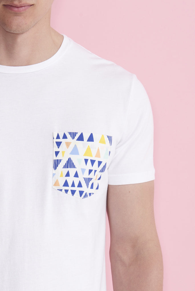 Multi-Colored Triangle T-Shirt
