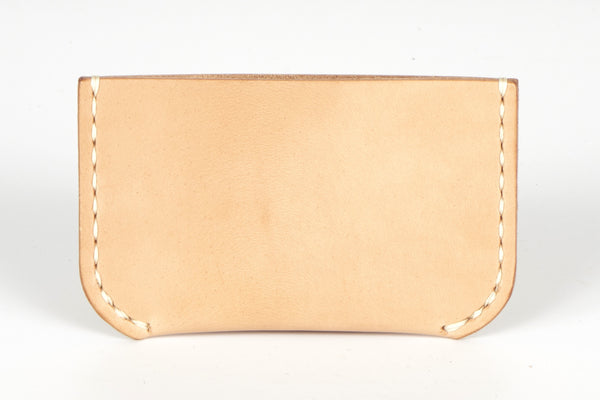 Leather Card Wallet - Vegetable Tan