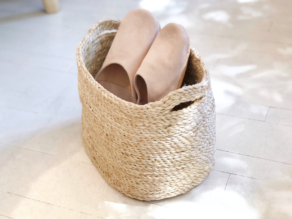 Handwoven Jute Basket Natural Extra Small