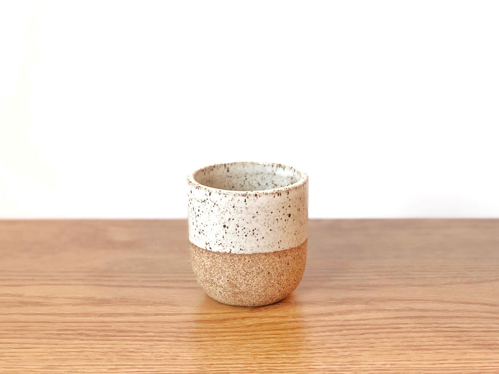 Ceramic Speckled Tumbler