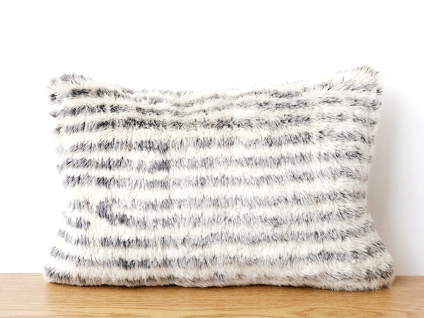 Striped Wool Pillow