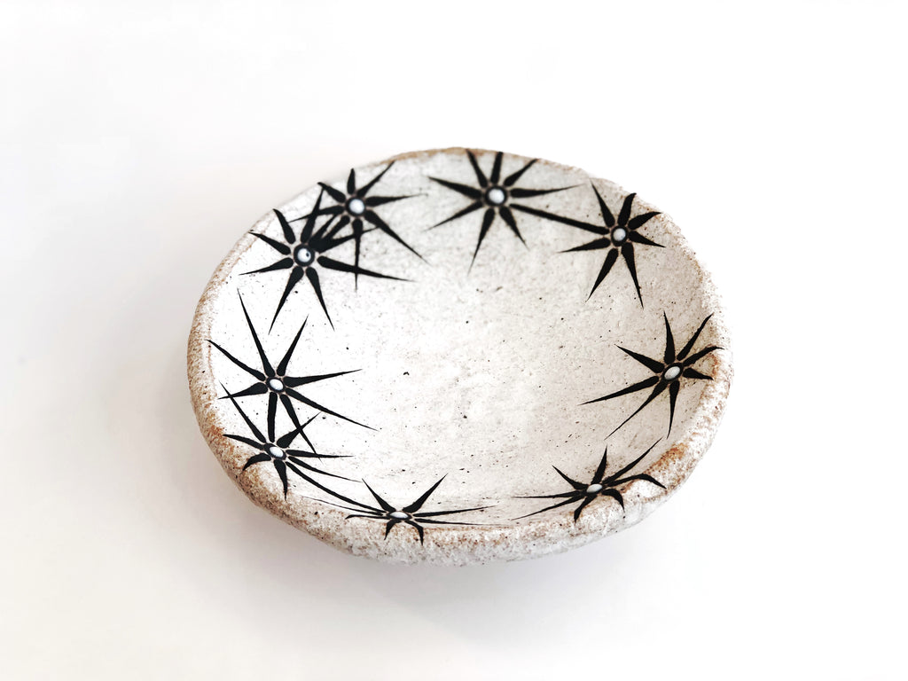 Hand-Painted Ceramic Small Offering Bowl