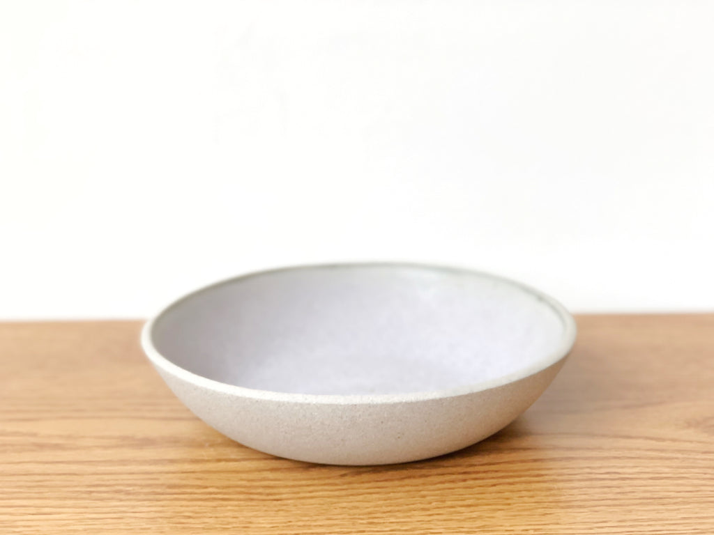 Ceramic Lavender Wide Bowl
