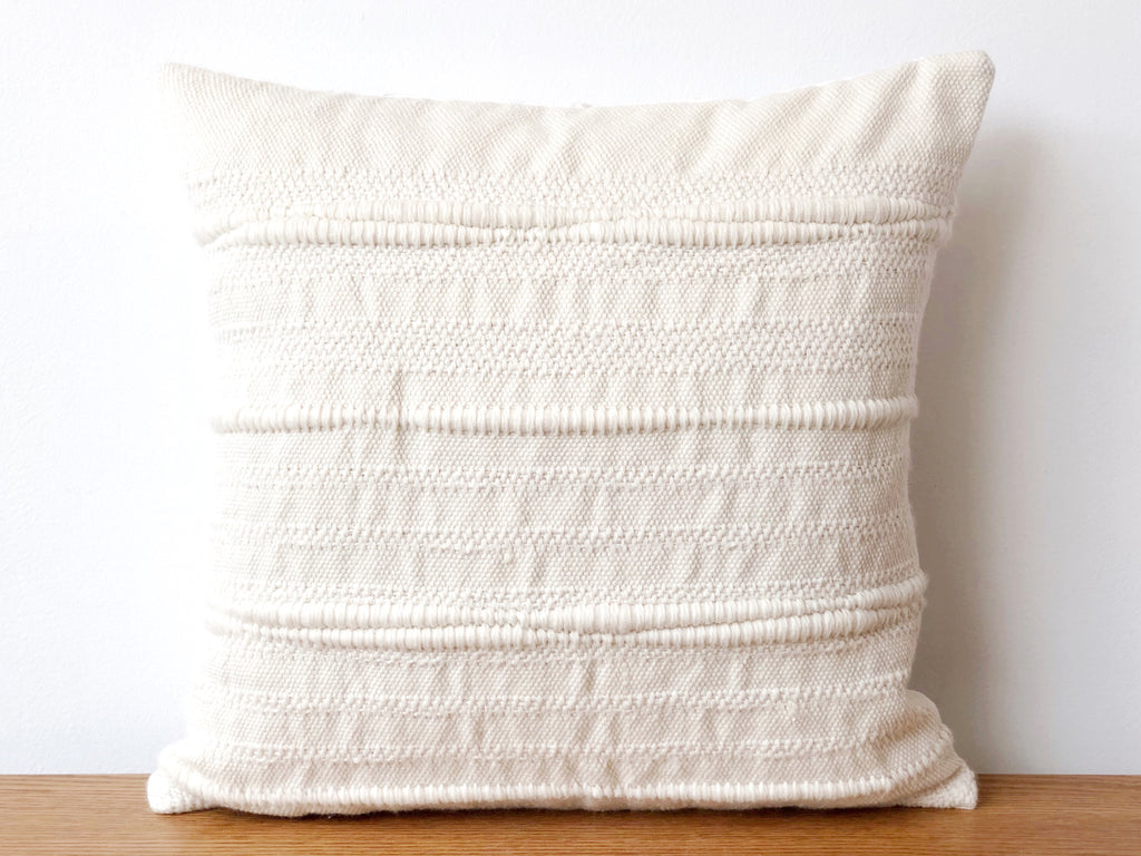 Handwoven Superfine Merino Pillow