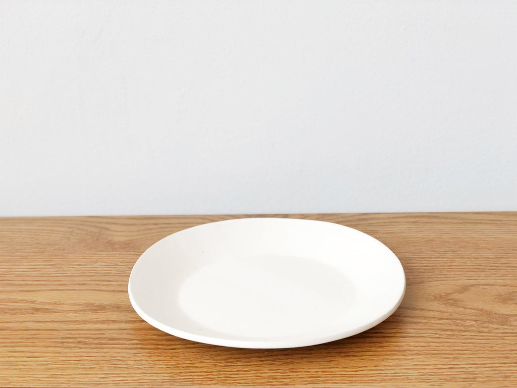 Ceramic White Salad Plate