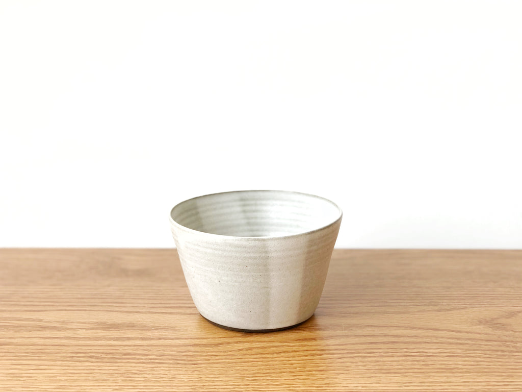 Ceramic Grey Bowl Tall
