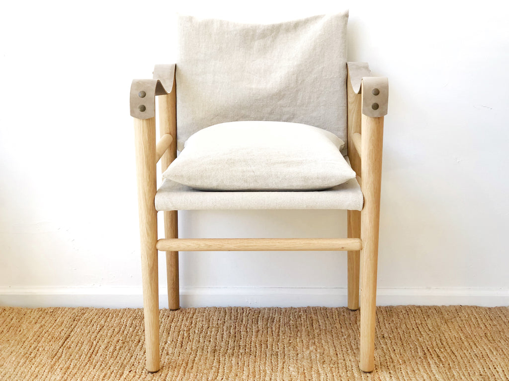 Linen Oak Chair