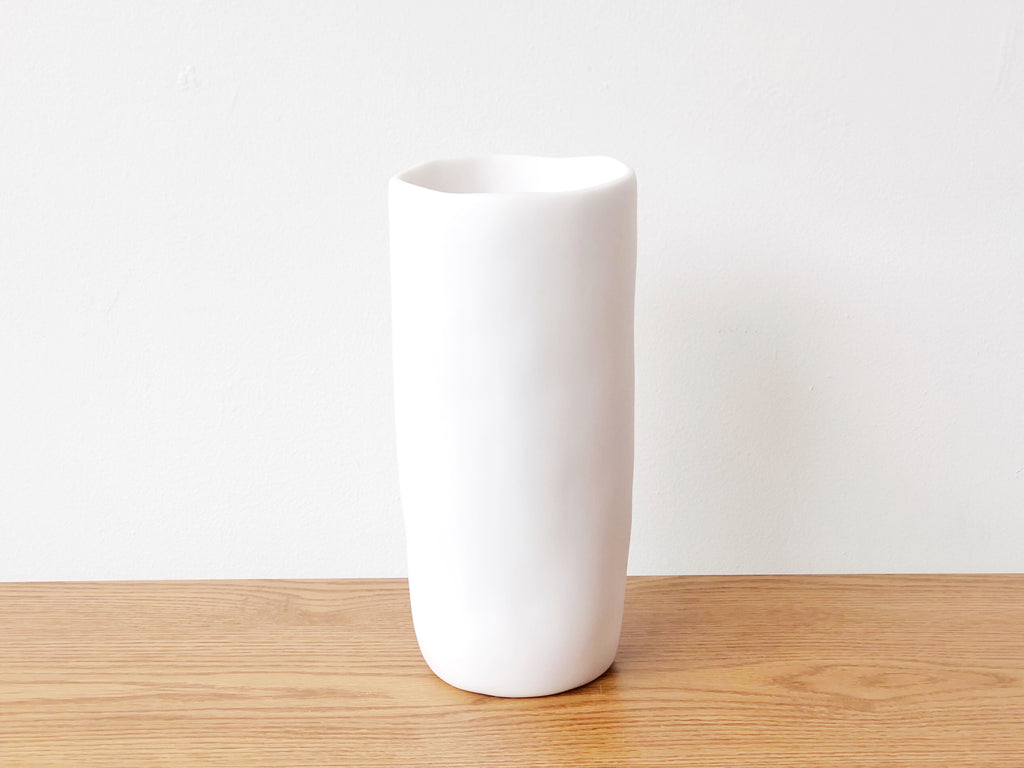 Hand-Sculpted Resin Vase Large