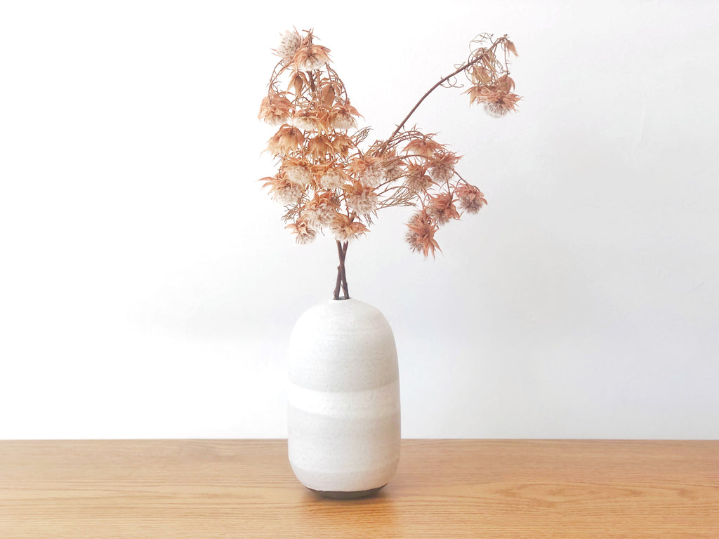 Ceramic Orb Vase Medium