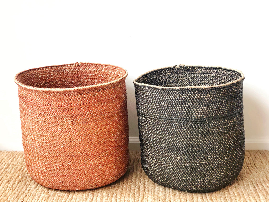 Handwoven Grass Basket Large