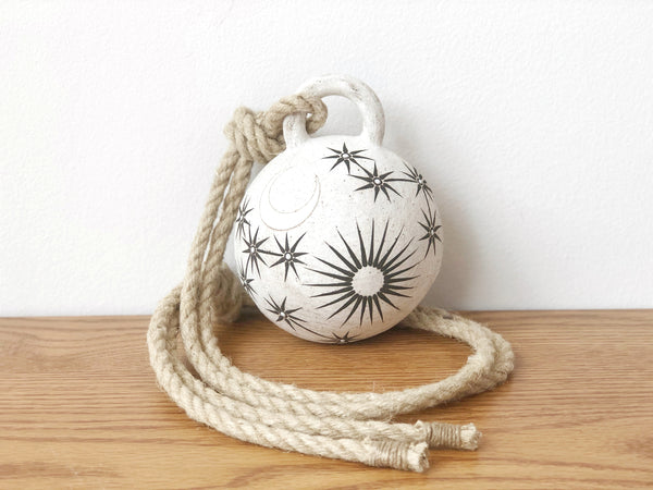 Hand-Painted Ceramic Bell