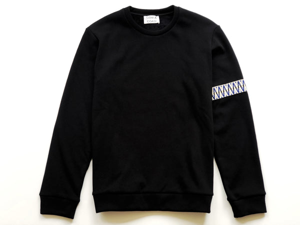 Black Light Banded Sweatshirt