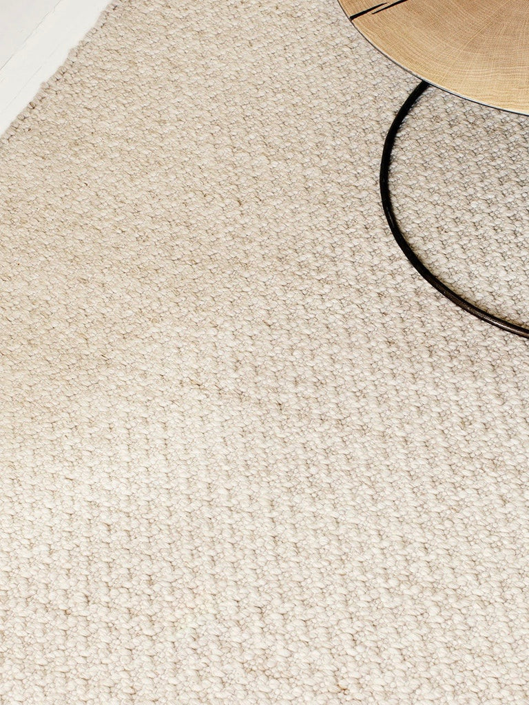Handwoven Wool Cotton Rug