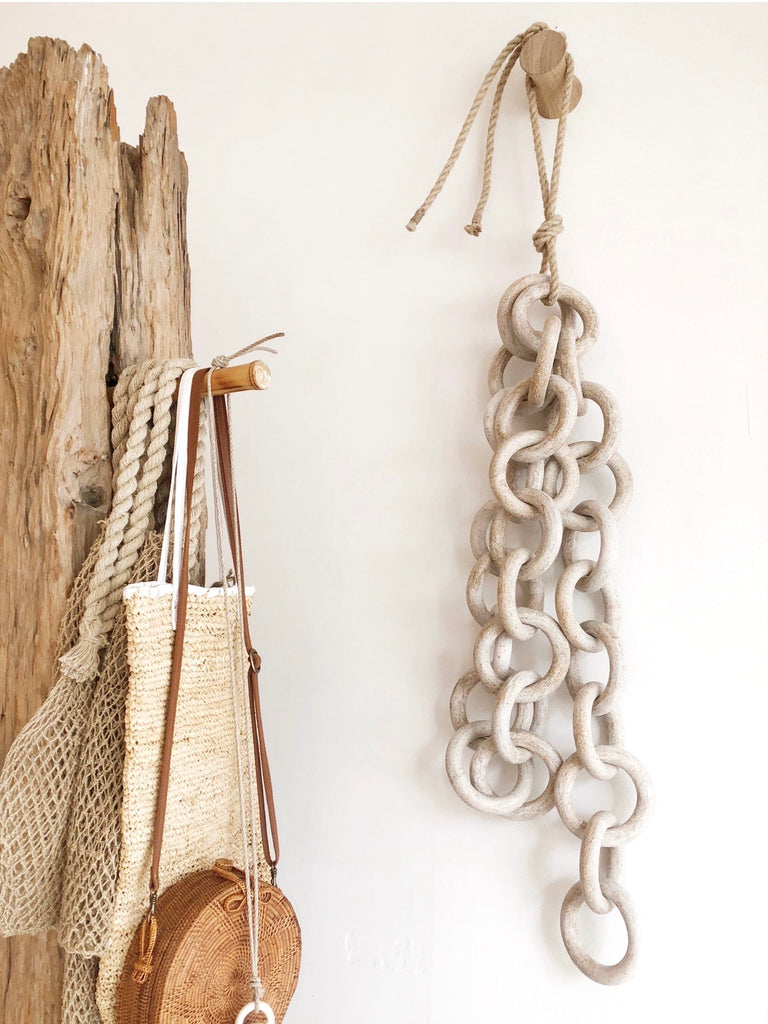 Ceramic Large Chain Link Hanging