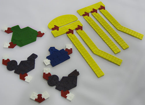 Monomers and lipids in the Molecular Puzzle kit.