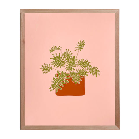 Philodendron Print - 8x10""