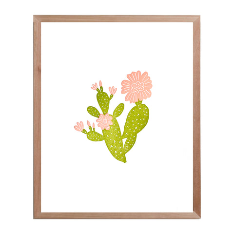 Prickly Pear Print - color