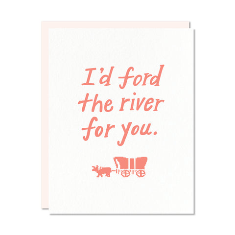 Ford the River card