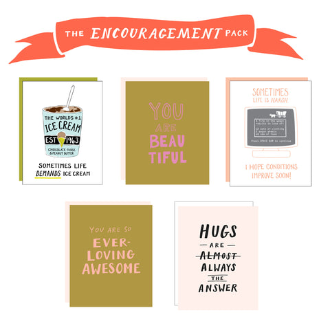 Encouragement Pack - 5 cards