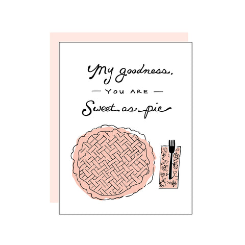 Sweet as Pie card
