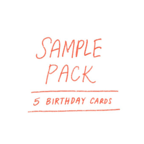 SAMPLE PACK - Birthday (5 cards)