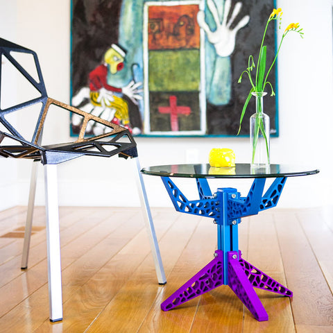 Blue and Purple Gira Table (Complete)