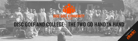 Disc Golf And College - The Two Go Hand In Hand Dude Clothing