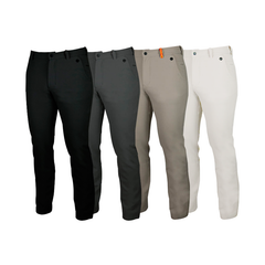 An image showing Dude Mens Disc Dacs in black, grey, khaki and white color