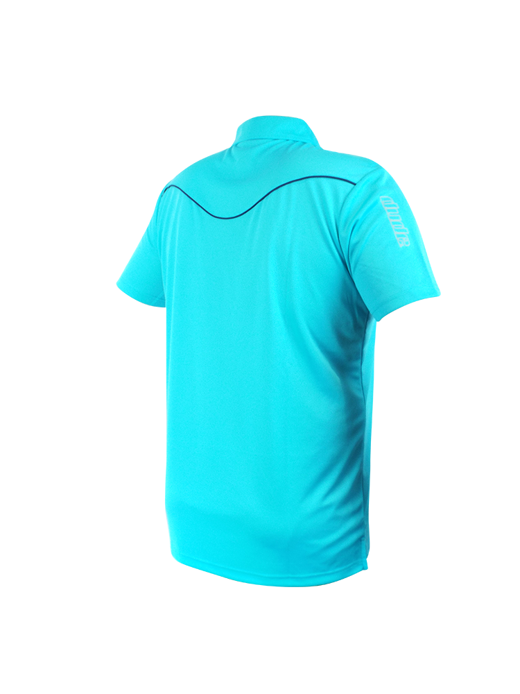 An image showing the back design of Barsby Aqua Polo