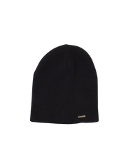 An image of DUDE Winter Beanie in black color in one size fits most