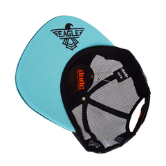 An image showing a Blue Eagle Trucker Snapback with toweling sweatband