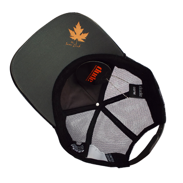 An image showing a Iron Leaf Trucker Cap with Toweling sweatband