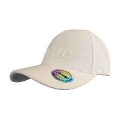 An image showing a Dude Black Tech Rubber Cap with a white dude logo print