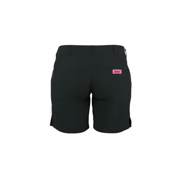 An image showing the back design of Ladies Pro short