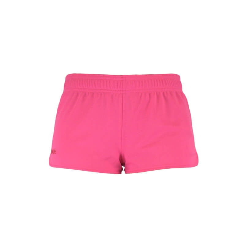 An image showing Ultimate Reversible Tech Shorts.  Tech reversible shorts color pink