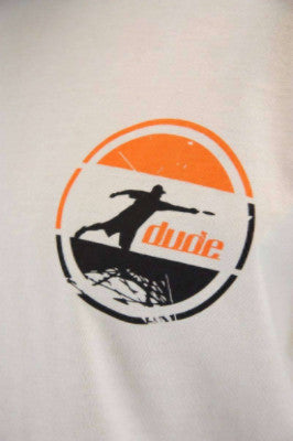 An image showing Arden Cotton Tee- Disc golf logo shirt, Off white Color