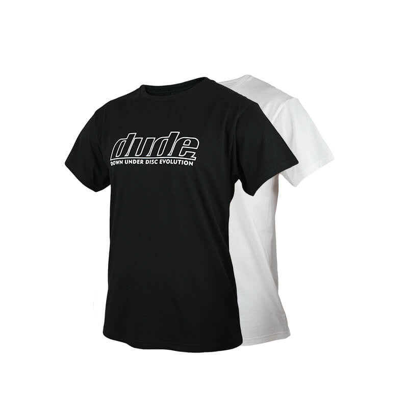 An image of Blank Corporate Tees in colors white and black