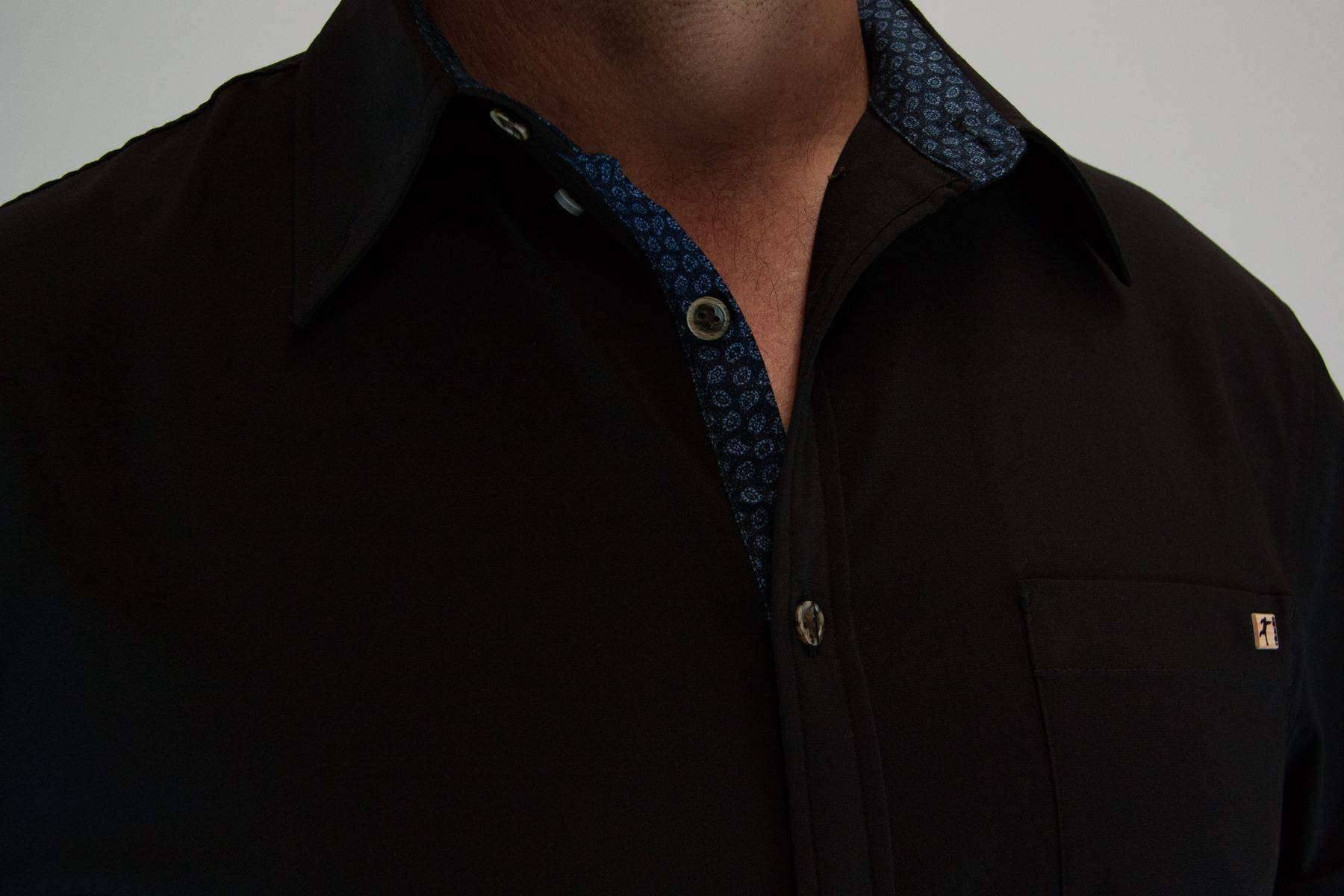 An image showing Dude Woven Shirt from Disc Golf Apparel
