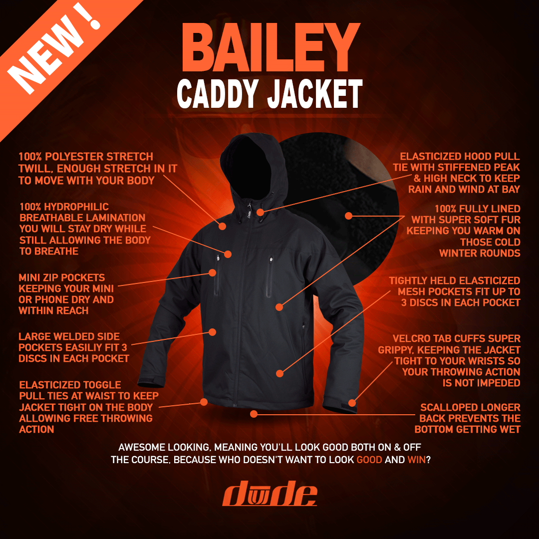 Bailey Caddy Jacket - Mens