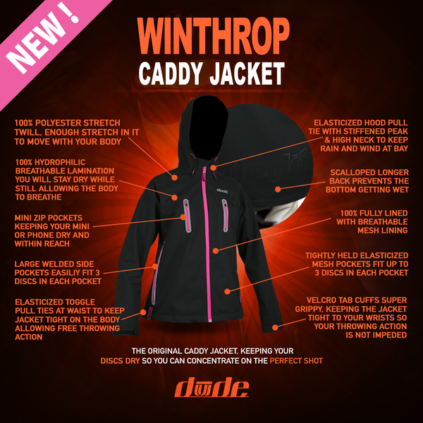 Winthrop Caddy Jacket - Ladies