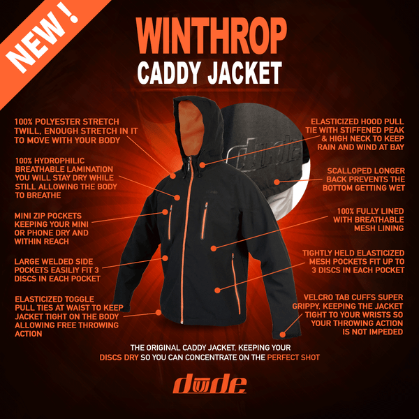 Winthrop Caddy Jacket - Mens