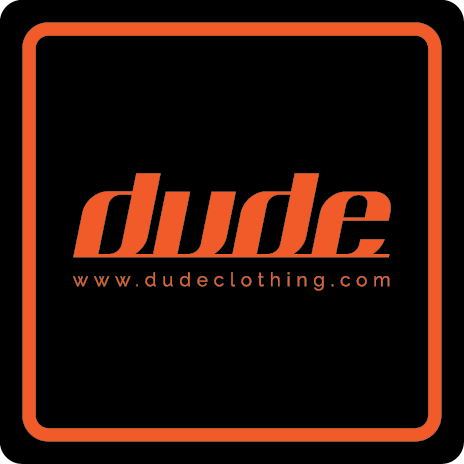 Dude Square Stickers