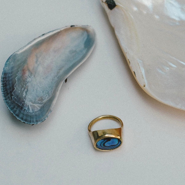 Abalone Ring No2