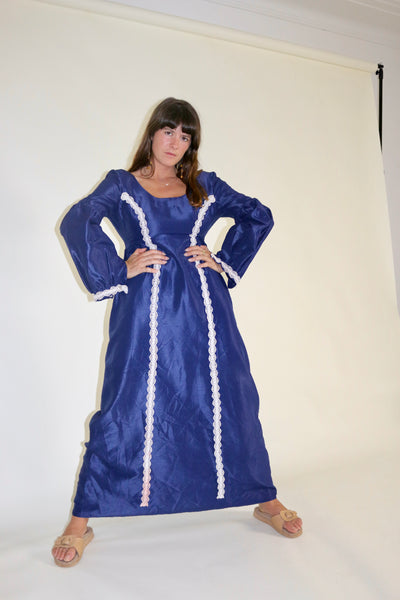 Blue Madame Dress