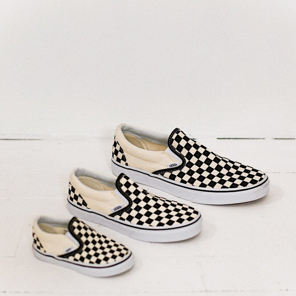 Family Checkerboard Vans